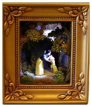 Disney Parks Gallery Of Light Olszewski Snow White A Kiss For Dopey New In Box