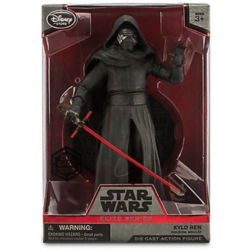 Disney Kylo Ren Elite Figure Die Cast Action 7 1/2'' Star Wars The Force Awakens