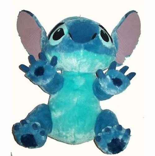 "disney parks authentic 15"" medium stitch plush toy new with tag"