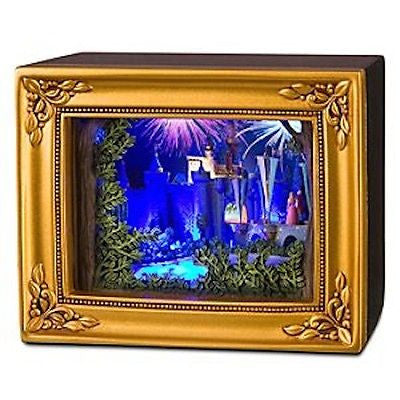Disney Parks Gallery Of Light Olszewski Sleeping Beauty Castle New With Box
