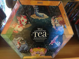 disney parks wonderland tea gift set 6 flavors 48 tea bags new sealed