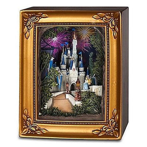 Disney Parks Gallery Of Light Olszewski Disneyland Cinderella Castle New With Box