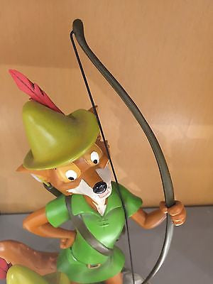 disney parks 40th robin hood and skippy alavezos medium statue new with box