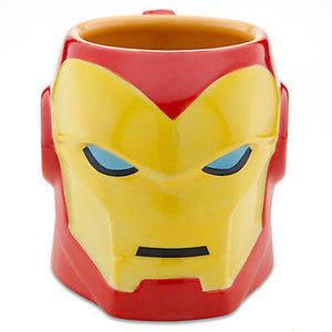 Disney Store Marvel sculptured Iron Man Coffee Mug new with box