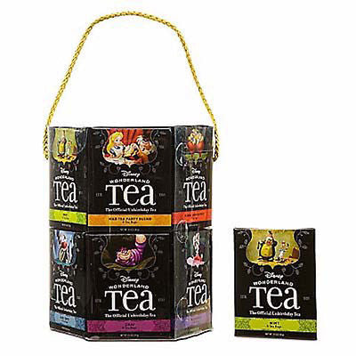 disney wonderland tea gift set variety 12 pack assortment 96 total new sealed