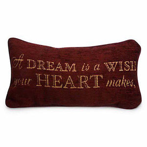 disney parks throw cinderella a dream is a wish pillow new with tag