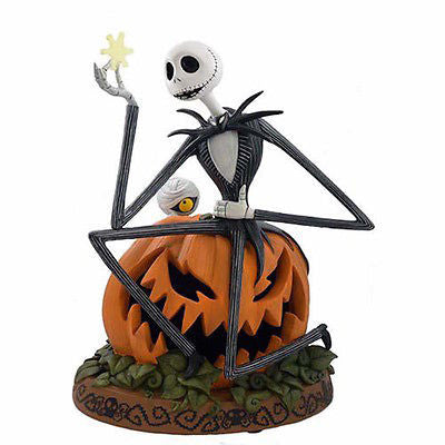 Disney Medium Figure Statue Jack Skellington The Nightmare Before Christmas Figurine New With Box