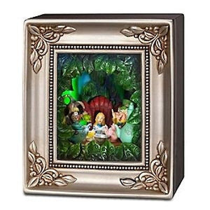 disney parks gallery of light olszewski alice in wonderland mad tea party new with box