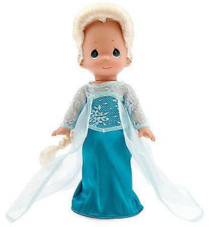 "disney precious moments frozen 12"" elsa doll new with box"
