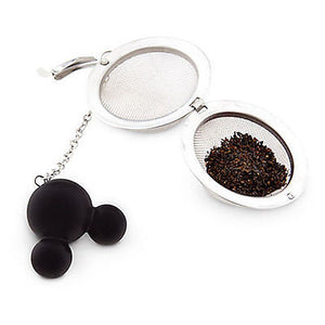disney parks tea ball strainer mickey mouse handle new sealed