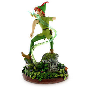 Disney Medium Figure Statue 60th Peter Pan Tinker Bell Figurine New With Box