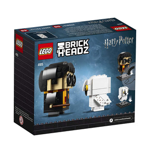 Lego Harry Potter and Hedwig 180 Pieces 41615 BrickHeadz New with Box