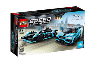 Lego 76898 Formula E Panasonic Jaguar Racing GEN2 I-PACE eTROPHY New with Box