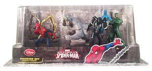 Disney Store Spider-Man Ultimate Figure Play Set Playset Cake Topper New w Box
