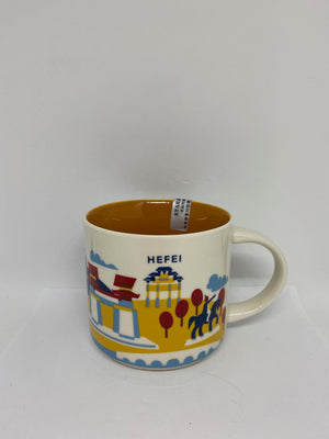 Starbucks You Are Here Collection Hefei China Ceramic Coffee Mug New With Box