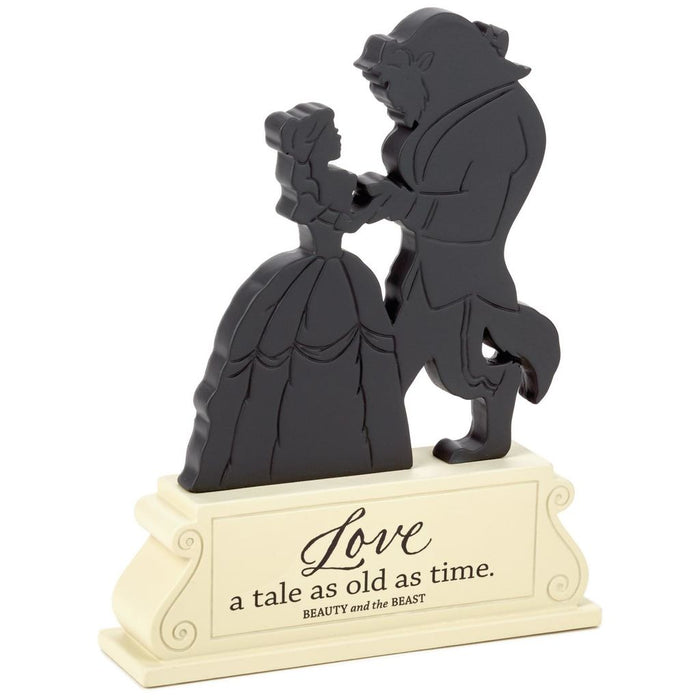 Hallmark Disney Beauty and the Beast Love a Tale Silhouette Figurine New