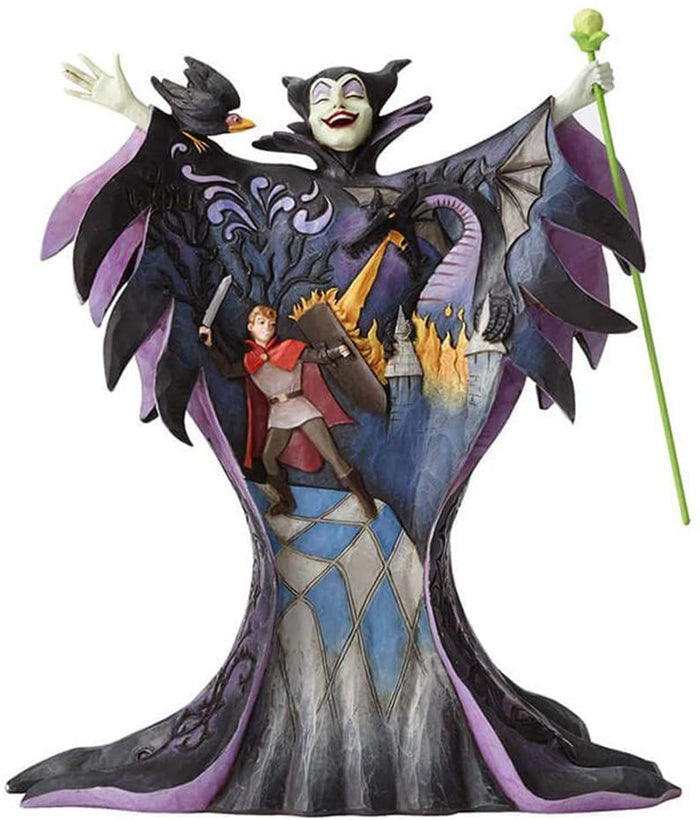 Disney Jim Shore Traditions Malevolent Madness Maleficent Figurine New with Box