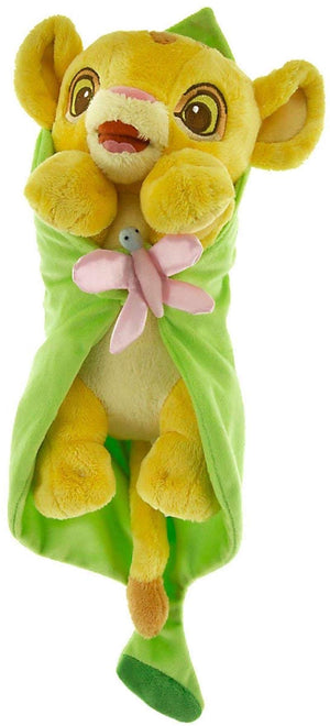 Disney Parks Baby The Lion King Simba in Blanket Plush New with Tag