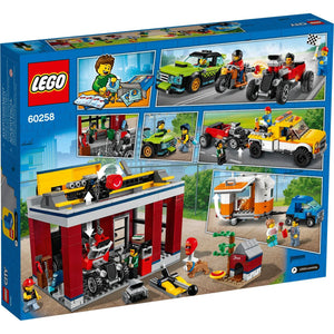 Lego 60258 City Tuning Workshop Toy Car Garage Cool Building Set New