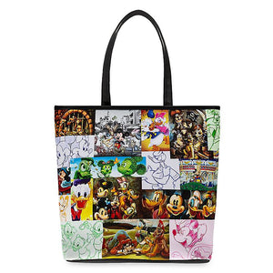 Disney Parks Tribute Mickey Mouse and Friends Tote Bag New with Tags