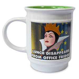 Disney Villains Snow White and the Seven Dwarfs Evil Queen Meme Coffee Mug New