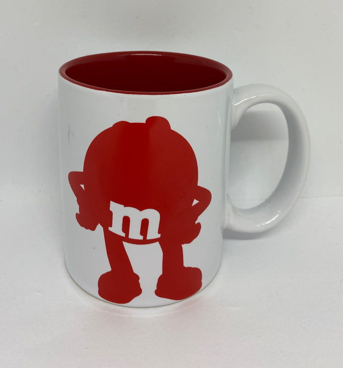 M&M's World Red Silhouette It's Not Easy Being This Amazing Coffee Mug New