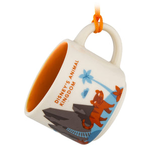 Disney Parks Starbucks Animal Kingdom Ornament Mug 2nd Version New with Box