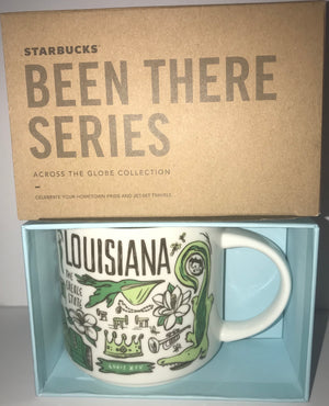 Starbucks Been There Series Collection Louisiana Coffee Mug New With Box