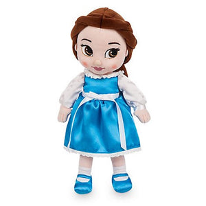 Disney Store Animators' Collection Belle Plush Doll New with Tags