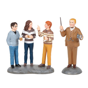 Department 56 Harry Potter Village Professor Slughorn & the Trio New with Box
