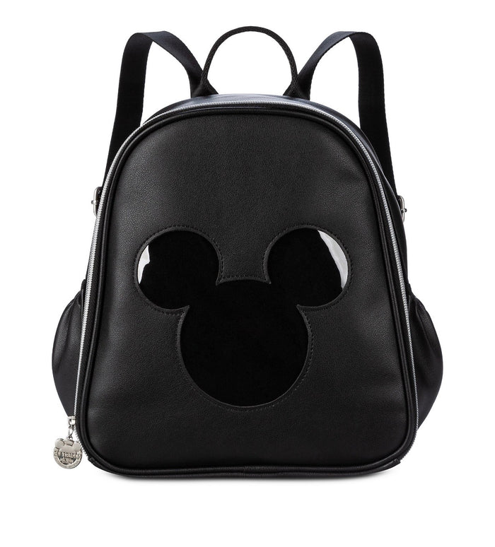 Disney Parks Mickey Mouse Icon Pin Trading Backpack New with Tag