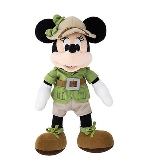 Disney Parks 9 inc Minnie Mouse Safari Plush New with Tags