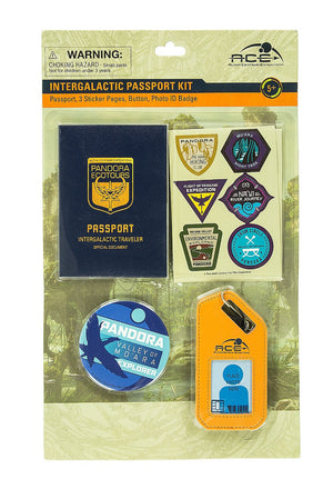 Disney Pandora the World of Avatar Intergalactic Passport Kit New with Tags