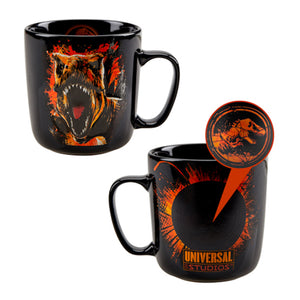 Universal Studios Jurassic World Heat Reactive Ceramic Coffee Mug New