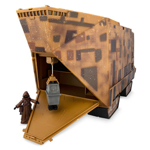 Disney Star Wars Sandcrawler Playset Jawa and Gonk Droid Figures New with Box