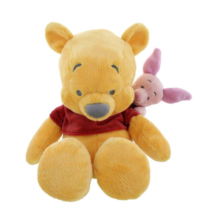 "disney parks winnie the pooh & piglet 15"" plush toy new with tags"