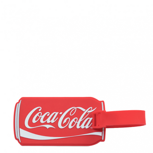 Authentic Coca Cola Coke Can Luggage Tag New with Tags
