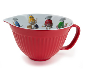 M&M's World Characters Chef Hats Mixing Bowl New
