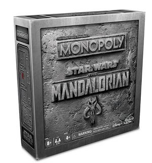 Disney Star Wars The Mandalorian Monopoly Game Limited Edition New with Box
