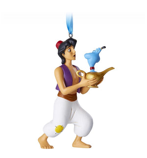 Disney Parks Aladdin and Genie Christmas Ornament New with Tags