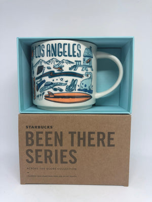 Starbucks Been There Collection Los Angeles California Coffee Mug New with Box