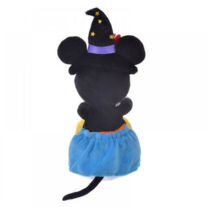 Disney Store Japan Minnie Halloween Pumpkin Reversible Plush New with Tags