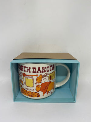 Starbucks Been There Series Collection North Dakota Coffee Mug New With Box