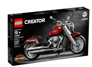 Lego Creator Harley Davidson Fat Boy 10269 1023 Pieces New with Box