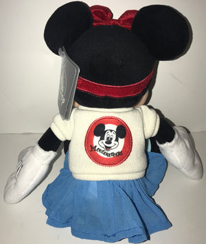 Disney Parks 11 inc Minnie Mouse Mouseketeers Mickey Mouse Club Plush New