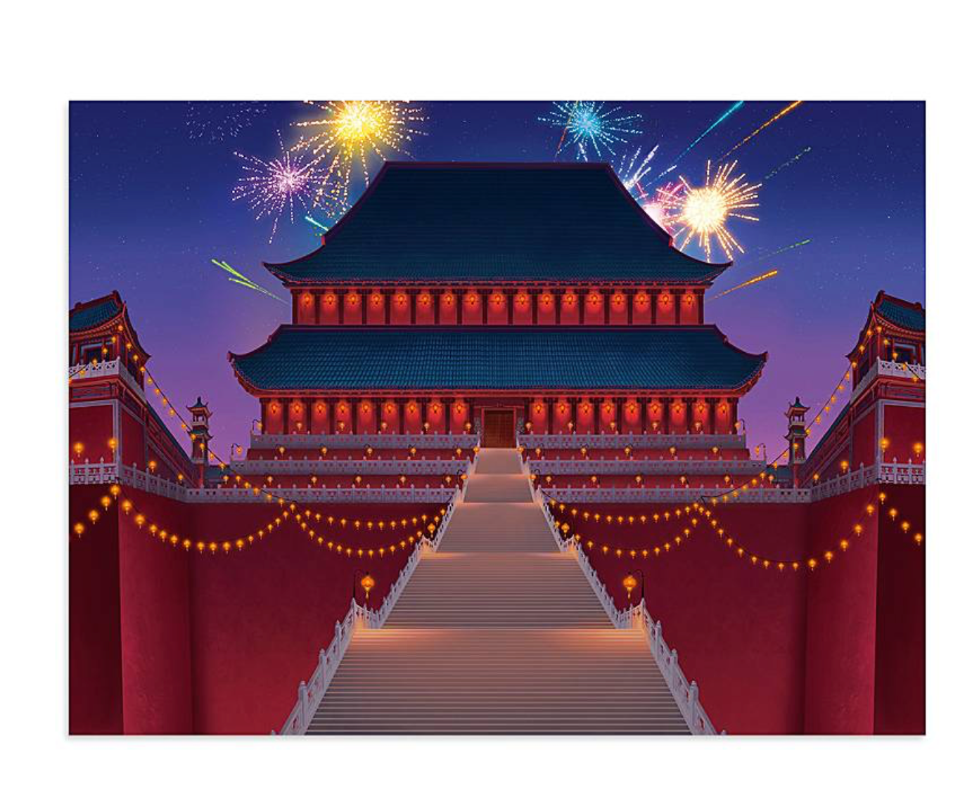 Disney Castle Collection Mulan Imperial Palace Puzzle Limited New With I Love Characters
