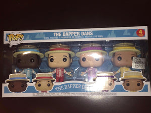 Disney D23 Expo 2019 Funko Pop Disneyland Dapper Dans Figure 4-Pack New w Box