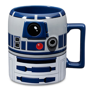 disney ceramic star wars r2-d2 coffee mug 16 oz new