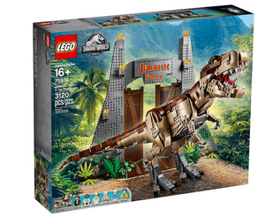 Lego 75936 Jurassic Park T. Rex Rampageet 10266 New with Box