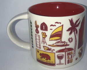 Starbucks Been There Series Collection California Coffee Mug New With Box